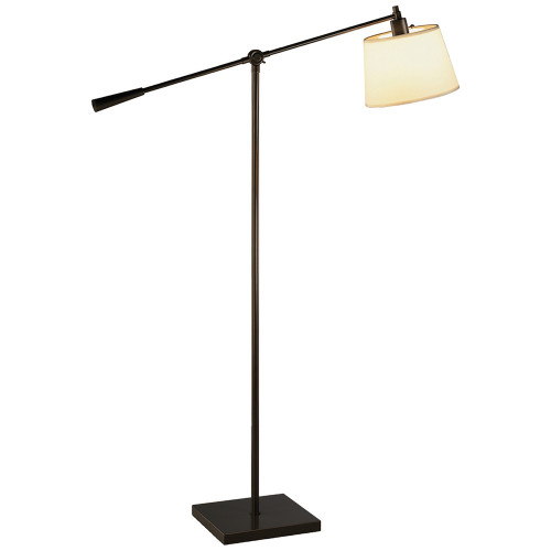 Shown in Deep Bronze Powder Coat with White with Top Diffuser Shade