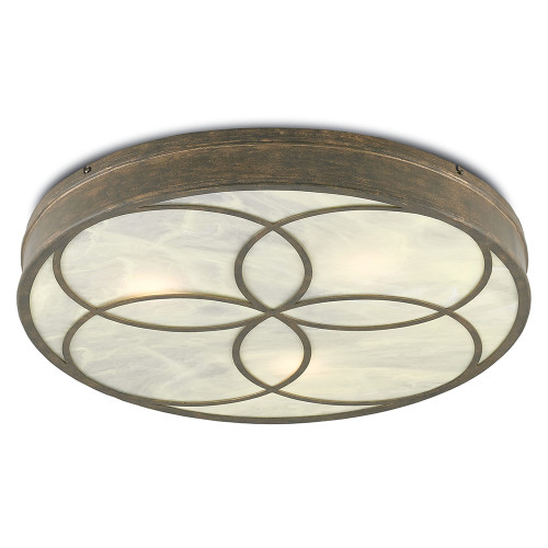 Shown in Rustic Gold/Alabaster