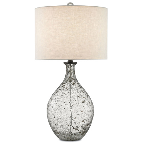 Shown in Clear Speckled Glass/Steel Gray