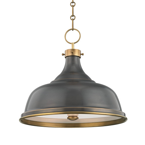 Shown in Aged/Antique Distressed Bronze with Distressed Bronze Shade