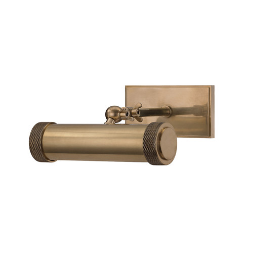 Shown in 8.5 inch Aged Brass with Aged Brass Shade