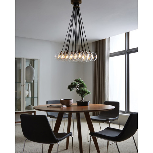 Tech Lighting Gambit 19-Lite Chandelier