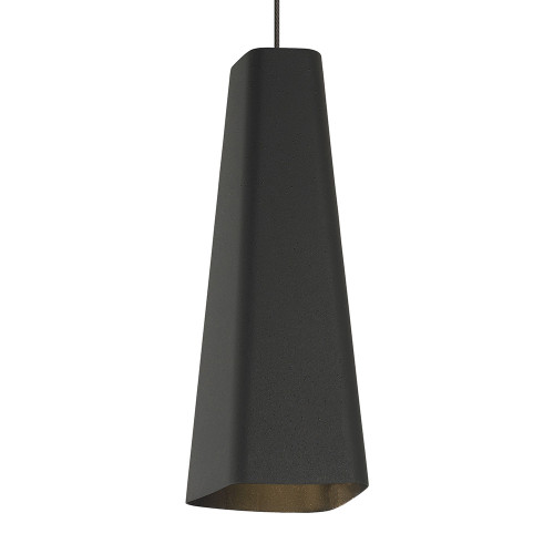Shown in Antique Bronze Textured Black/Black