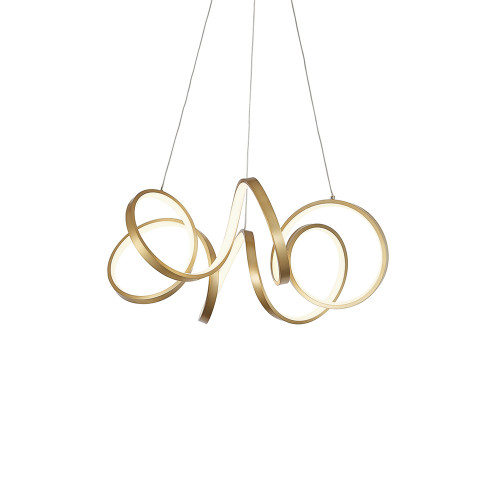 Shown in Small Antigue Brass with Acrylic Shade