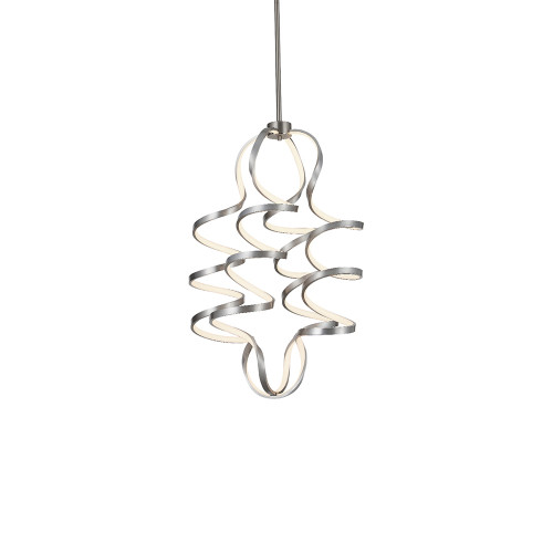 Shown in Small Antigue Silver with Acrylic Shade