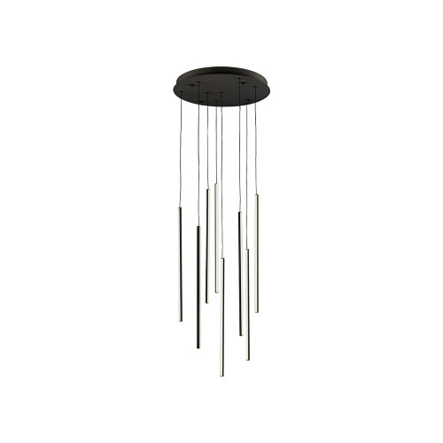 Shown in 8 Light Black with Acrylic Shade