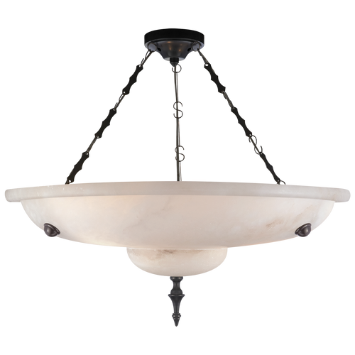 Charles Small Chandelier Alabaster
