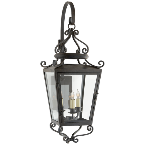 Lafayette Medium Bracketed Sconce French Rust