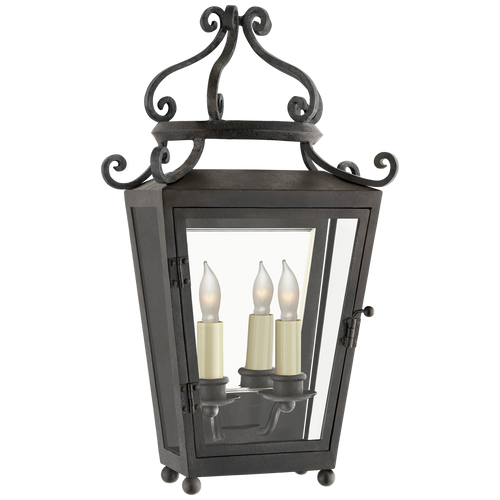 Lafayette Small 1/2 Sconce French Rust