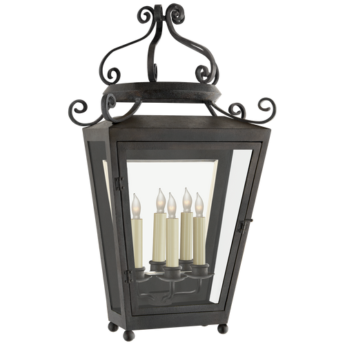 Lafayette Large 1/2 Sconce French Rust