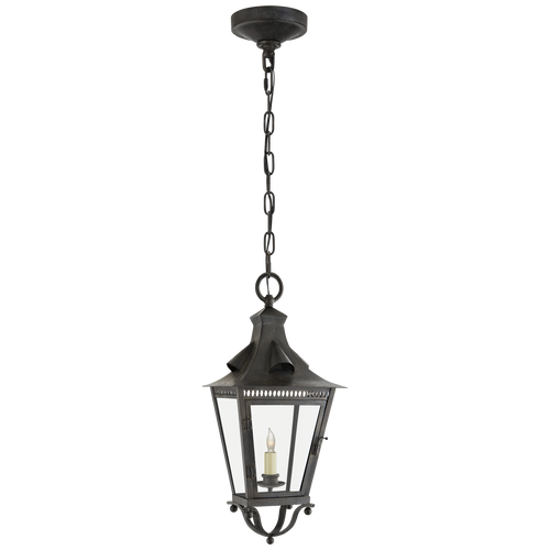 Orleans Small Hanging Lantern French Rust