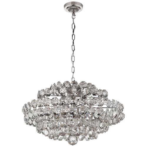 Sanger Small Chandelier Polished Nickel