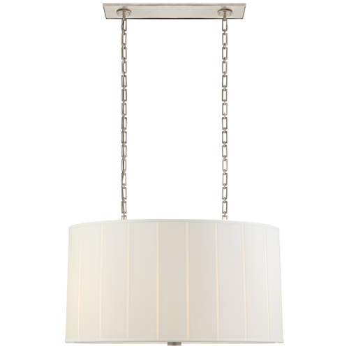 Perfect Pleat Oval HanginGShade