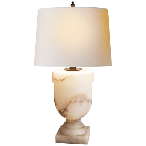 Chunky Urn Large Table Lamp Alabaster