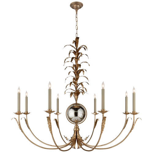 Gramercy Large Chandelier Gilded Iron