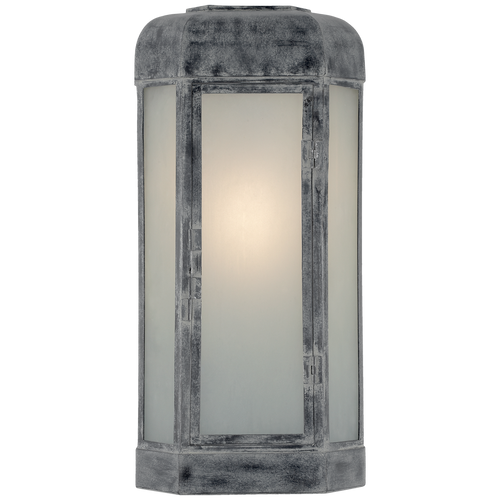Dublin Large Faceted Sconce