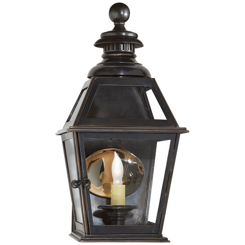 Chelsea Small 3/4 Wall Lantern Bronze