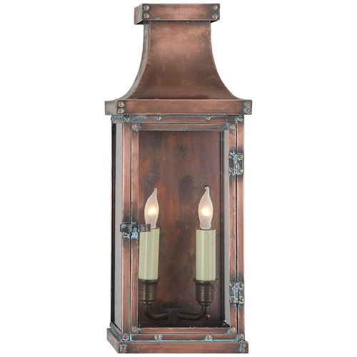 Bedford Medium 3/4 Lantern Natural Copper