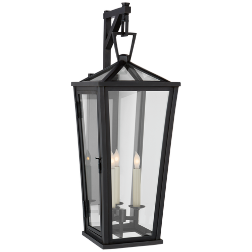 Darlana Medium Tall Bracketed Wall Lantern Bronze