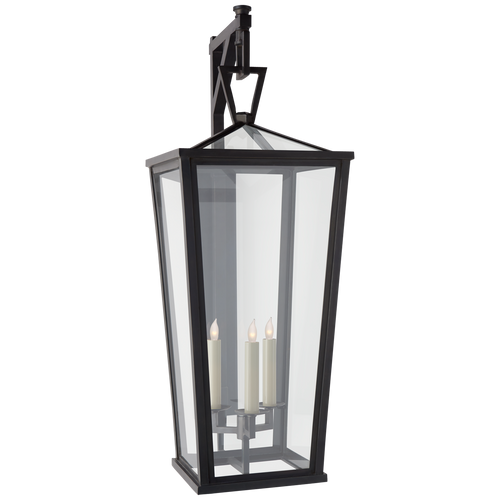 Darlana Grande Tall Bracketed Wall Lantern Bronze