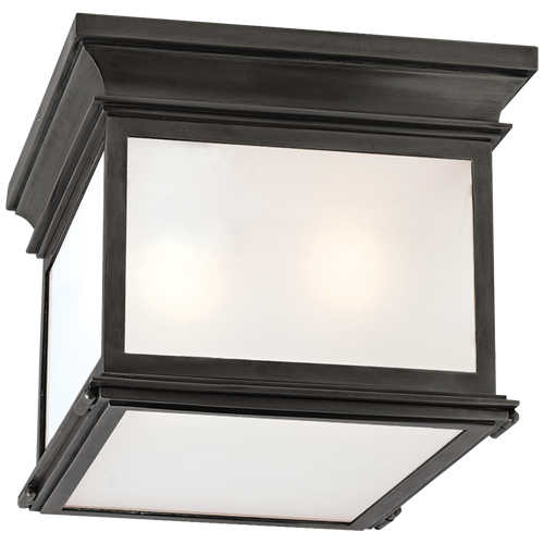 Club Small Square Ceiling Flush Mount