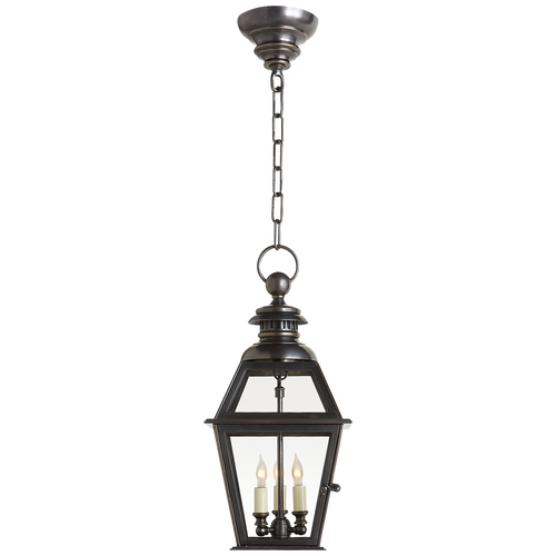Chelsea Medium Hanging Lantern Bronze