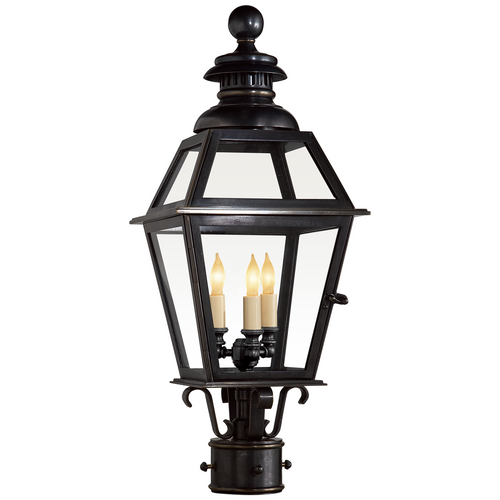Chelsea Medium Post Lantern Bronze