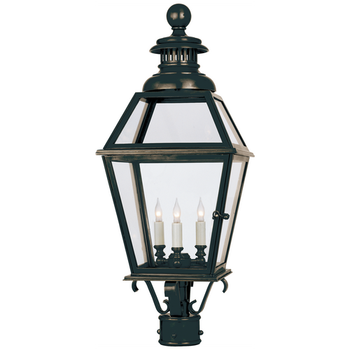 Chelsea Large Post Lantern Bronze