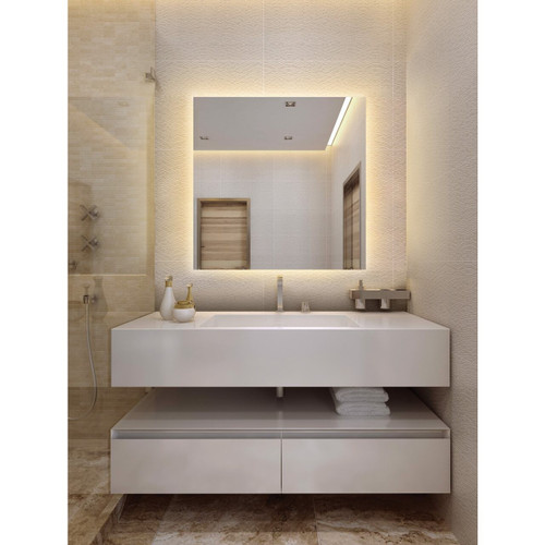 Serenity LED Lighted Mirror