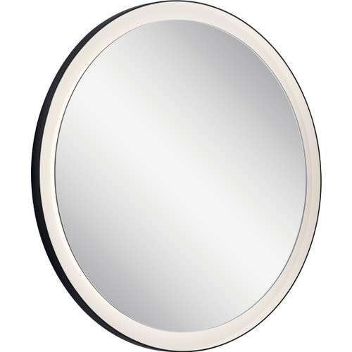 Ryame Round Lighted Mirror