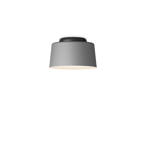 Tube - Individual Ceiling in Light Grey