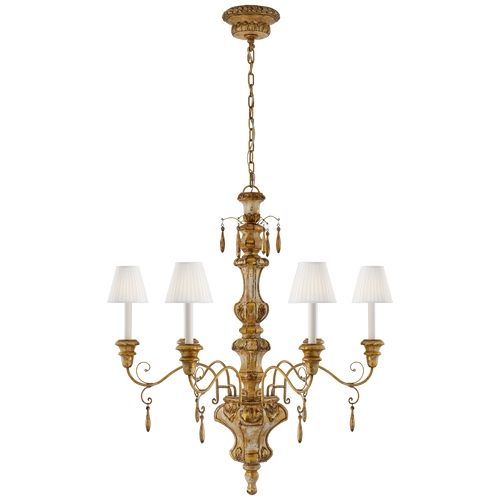Marylea Large Hand Carved Chandelier