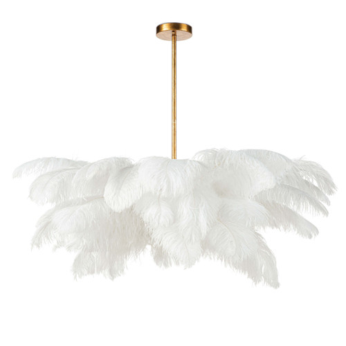 Josephine Feather Chandelier