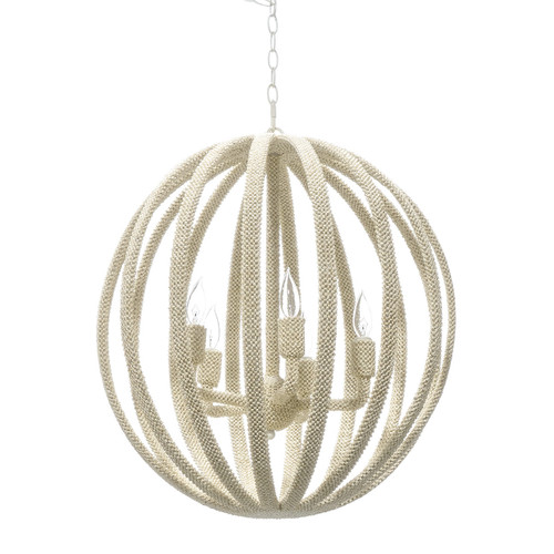Madera Coco Chandelier, Large