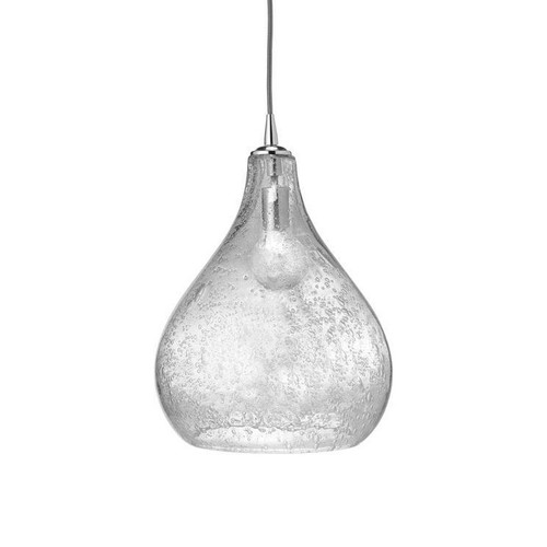 Large Curved Glass Pendant