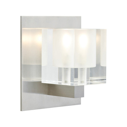 Tech Lighting Cube Wall *Overstock satin nickel new in box*