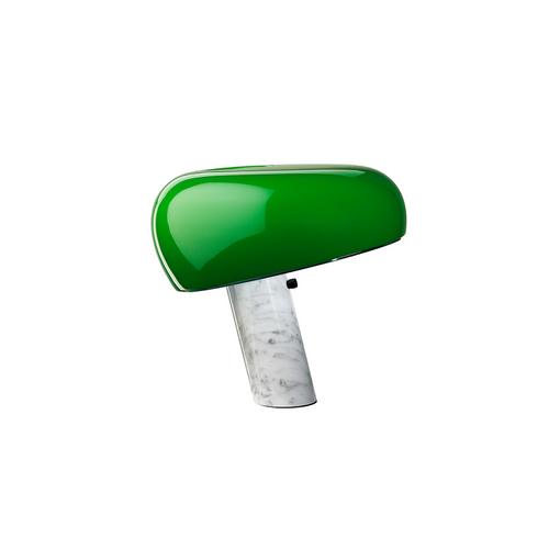 Snoopy Green Marble Base Table Lamp