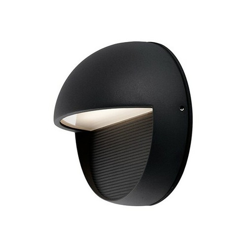 Byron Outdoor Round LED Wall Sconce