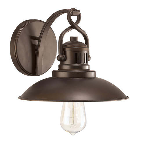 O'Neal 1-Light Sconce in Burnished Bronze