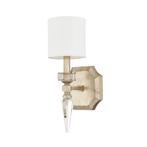 Olivia 1-Light Sconce in Winter Gold