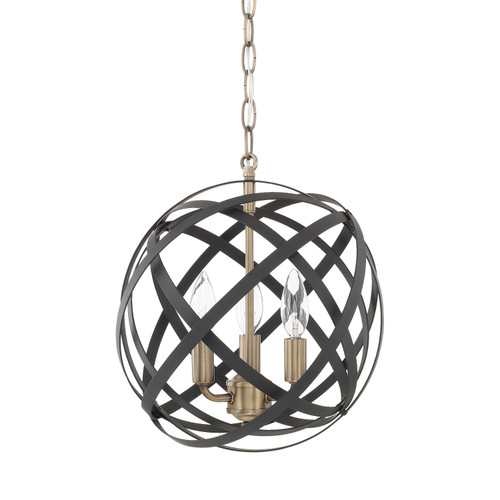 Axis 3-Light Pendant