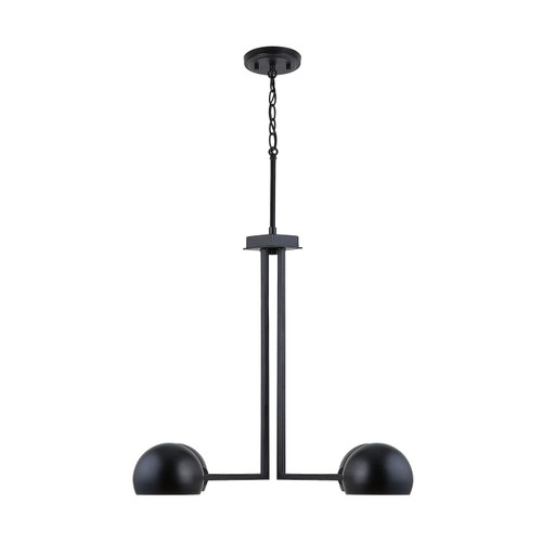Hadley 4-Light Chandelier in Matte Black