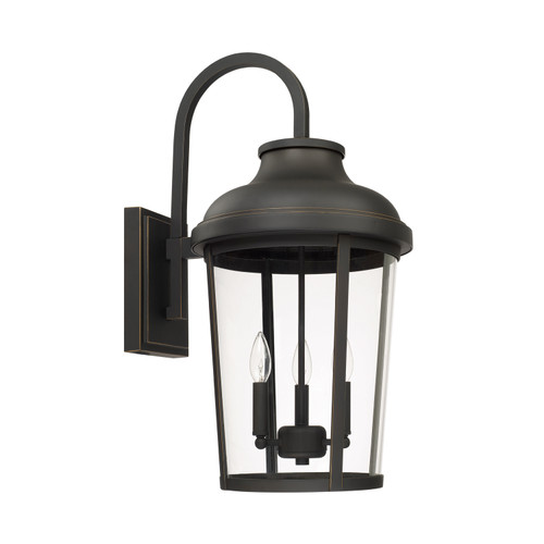 Dunbar 3-Light Outdoor Wall Mount