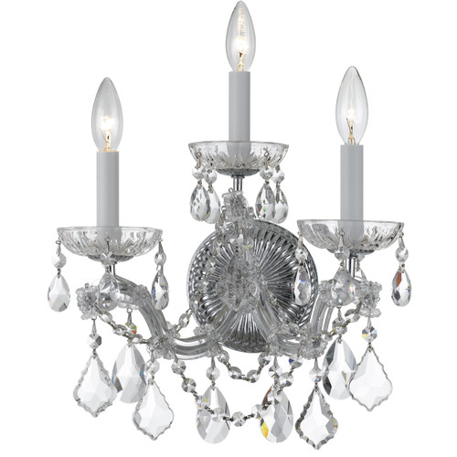 Crystorama Maria Theresa 3 Light Sconce