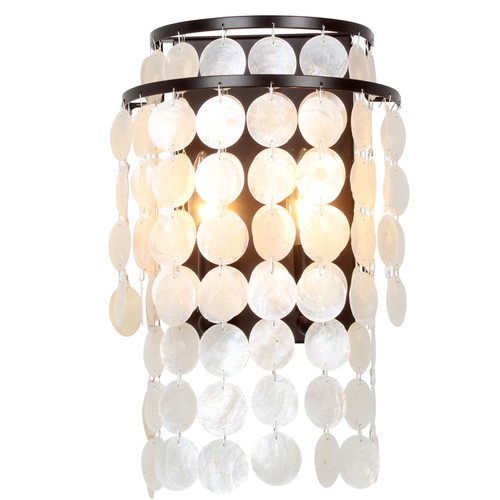 Crystorama Brielle 2 Light Sconce