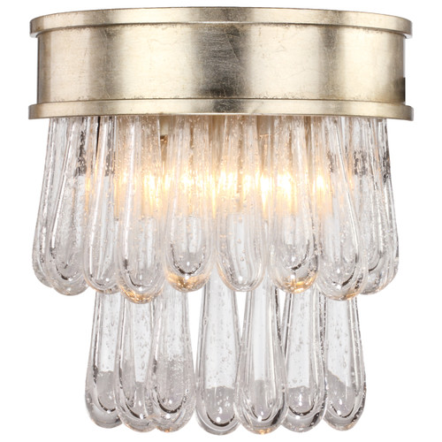 Crystorama Julien 2 Light Distressed Twilight Sconce