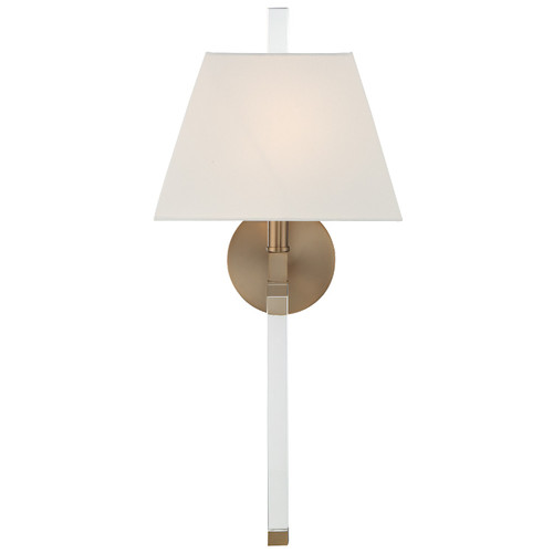 Crystorama Renee 1 Light Sconce