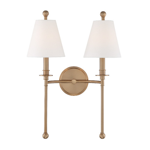 Crystorama Riverdale 2 Light Sconce