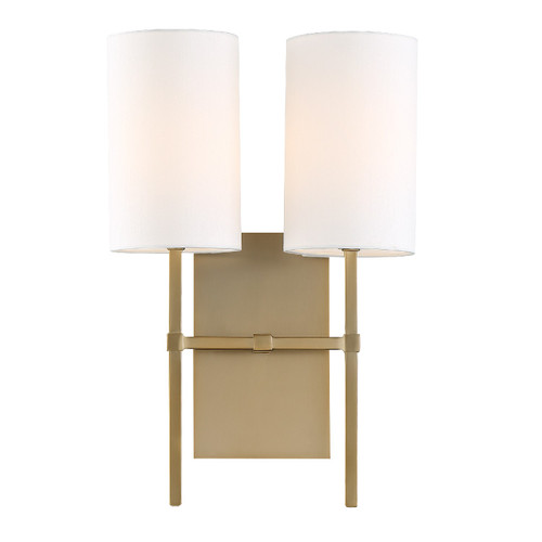 Crystorama Veronica 2 Light Sconce