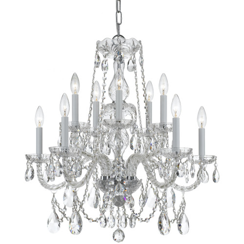Traditional Crystal 10 Light 1130 Chandelier